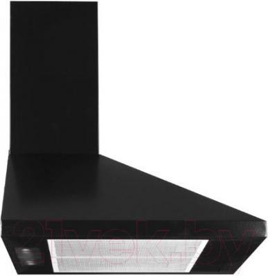 Вытяжка купольная Germes Piramida (60, черный) - вид сбоку