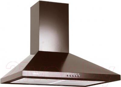Вытяжка купольная Germes Piramida (60, коричневый) - общий вид