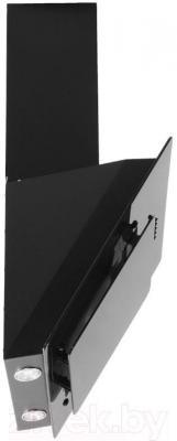 Вытяжка декоративная Germes Delta (60, черный) - вид сбоку