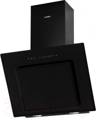 Вытяжка декоративная Germes Delta Sensor (50, черный) - общий вид