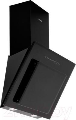 Вытяжка декоративная Germes Delta Sensor (50, черный) - вид сбоку