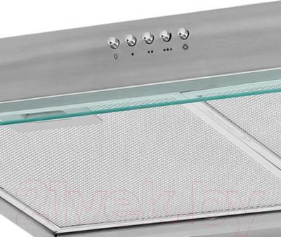 Вытяжка плоская Germes Slim (50, нержавеющая сталь) - панель управления