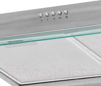 Вытяжка плоская Germes Slim (60, нержавеющая сталь) - панель управления