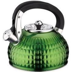 Чайник со свистком Peterhof PH-15597 (Green) - общий вид