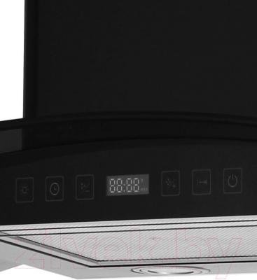 Вытяжка купольная Grand Verona Sensor 60 (HC6236A-S, черный) - панель управления