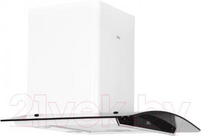 Вытяжка купольная Grand Verona Sensor 60 (белый) - вид сбоку