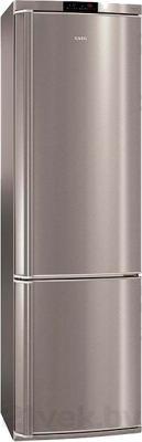 Холодильник с морозильником AEG S57340CNX0 - общий вид