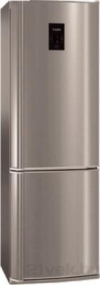 Холодильник с морозильником AEG S58320CMM0 - общий вид
