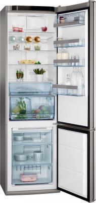 Холодильник с морозильником AEG S58360CMM0 - в открытом виде