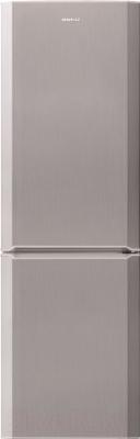 Холодильник с морозильником Beko CN333100X - общий вид