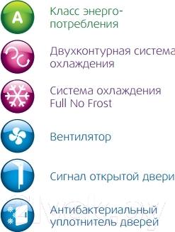 Холодильник с морозильником Beko CN333100