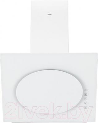 Вытяжка декоративная Grand Vega 60 (HF6186A-SA, белый) - вид спереди