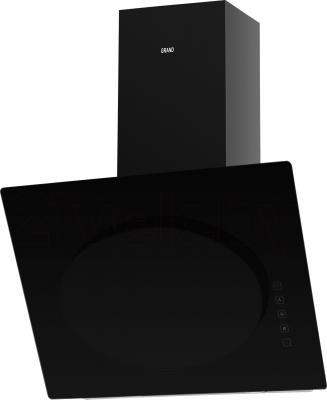 Вытяжка декоративная Grand Vega 60 (HF6186A-SA, черный) - общий вид