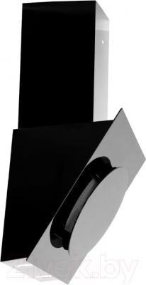 Вытяжка декоративная Grand Vega 60 (HF6186A-SA, черный) - вид сбоку