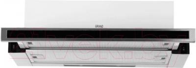 Вытяжка телескопическая Grand HB6102C-S(M) - вид спереди