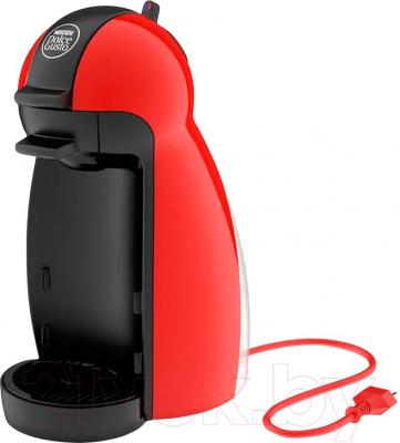 Капсульная кофеварка Krups Piccolo Red KP100610