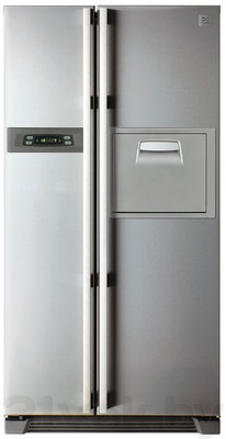 Холодильник с морозильником Daewoo FRS-U20HES - общий вид
