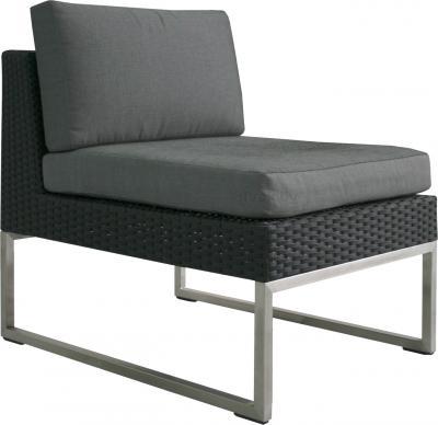 Диван садовый Sundays Steel 13622 (черный) - общий вид
