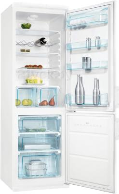 Холодильник с морозильником Electrolux ERB35090W - в открытом виде