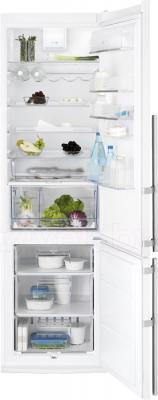 Холодильник с морозильником Electrolux EN4011AOW - в открытом виде