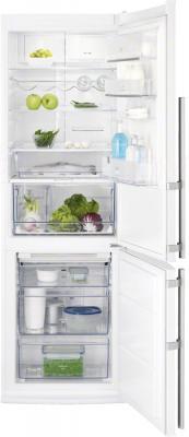 Холодильник с морозильником Electrolux EN3488AOW - в открытом виде