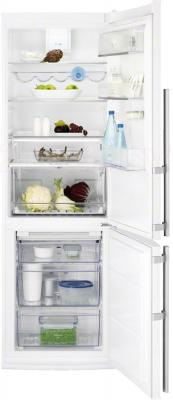 Холодильник с морозильником Electrolux EN3453AOW - в открытом виде