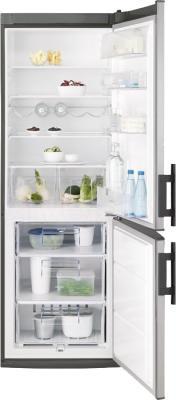 Холодильник с морозильником Electrolux EN3400AOX - в открытом виде