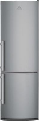 Холодильник с морозильником Electrolux EN3241AOX - общий вид