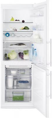 Холодильник с морозильником Electrolux EN3241AOW - в открытом виде