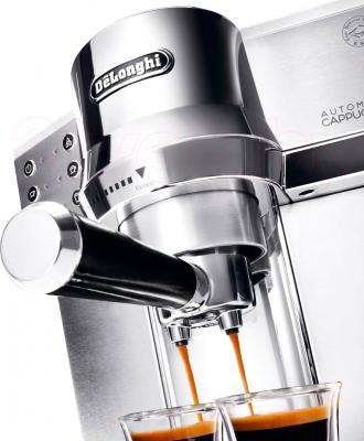 Кофеварка эспрессо DeLonghi EC 850.M - одновременное приготовление двух чашек