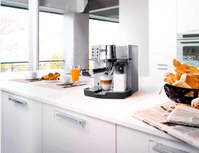 Кофеварка эспрессо DeLonghi EC 850.M - в интерьере
