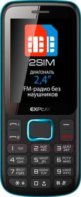 Мобильный телефон Explay A240 (Blue) - общий вид