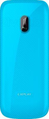 Мобильный телефон Explay A240 (Blue) - вид сзади
