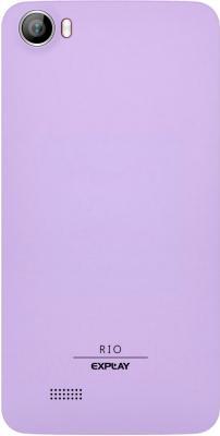 Смартфон Explay Rio (Purple) - задняя панель