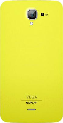 Смартфон Explay Vega (Yellow) - задняя панель