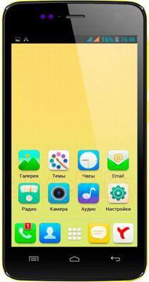 Смартфон Explay Vega (Yellow) - общий вид