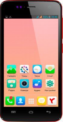 Смартфон Explay Vega (красный) - общий вид