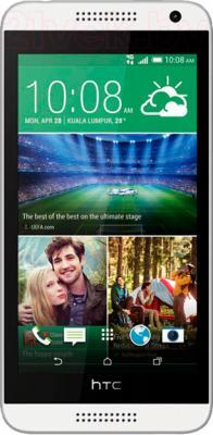 Смартфон HTC Desire 610 (белый) - общий вид