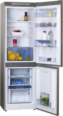 Холодильник с морозильником Hansa FK273.3 X - в открытом виде