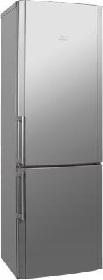 Холодильник с морозильником Hotpoint HBM 1181.3 SH - общий вид