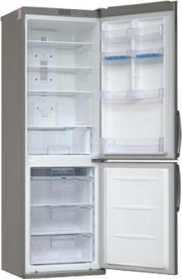 Холодильник с морозильником LG GA-B379SLCA - в открытом виде