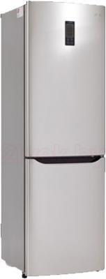 Холодильник с морозильником LG GA-B409SAQA - общий вид