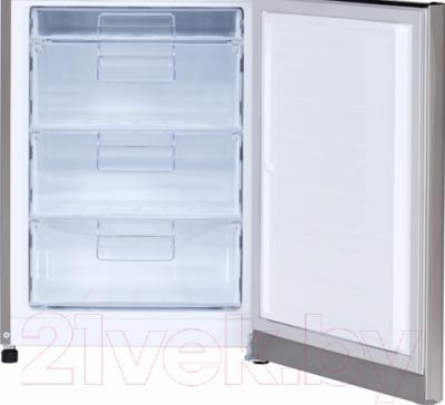 Холодильник с морозильником LG GA-B409SAQA