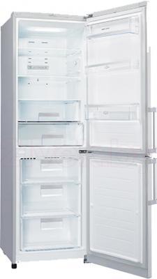 Холодильник с морозильником LG GA-B439YAQA - в открытом виде