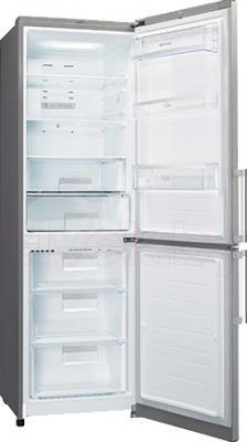 Холодильник с морозильником LG GA-B439ZAQA - в открытом виде