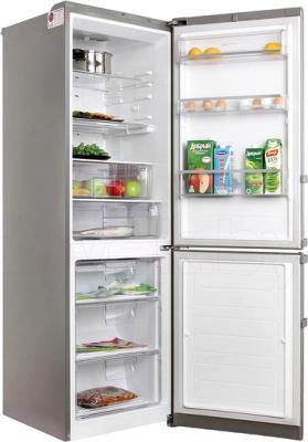 Холодильник с морозильником LG GA-B439ZAQZ - в открытом виде