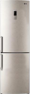 Холодильник с морозильником LG GA-B439ZEQZ - общий вид