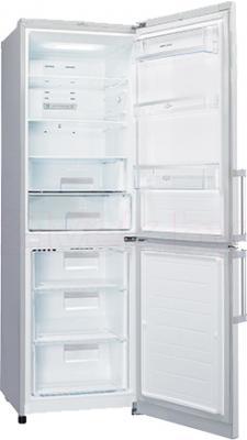 Холодильник с морозильником LG GA-B439ZVQA - в открытом виде