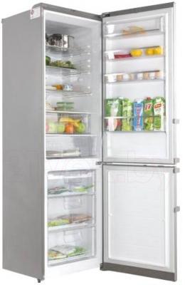 Холодильник с морозильником LG GA-B489YAKZ - в открытом виде