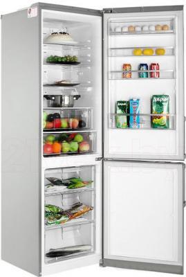 Холодильник с морозильником LG GA-B489YAQZ - в открытом виде